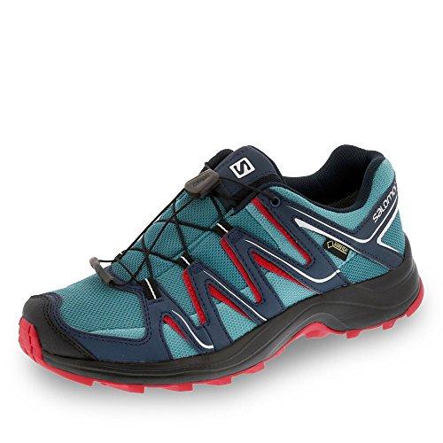 Salomon Chaussures de randonnée bleu/gris