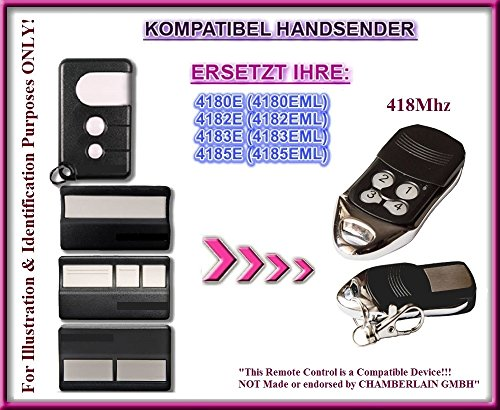 Chamberlain kompatibel handsender / ersatz TR-163