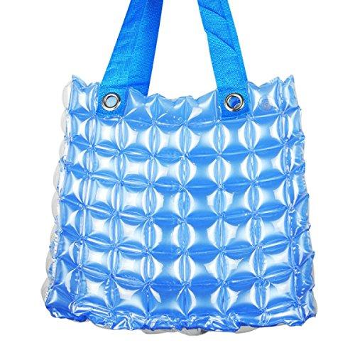 PVC Sacca Gonfiabile Spiaggia Shopping Donne Colore Della Caramella Impermeabili Portatili Borse Per La Spesa Blue