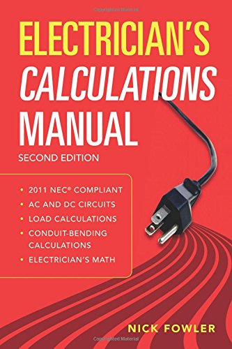 Electrician's Calculations Manual, Second Edition (Ecm-motor)