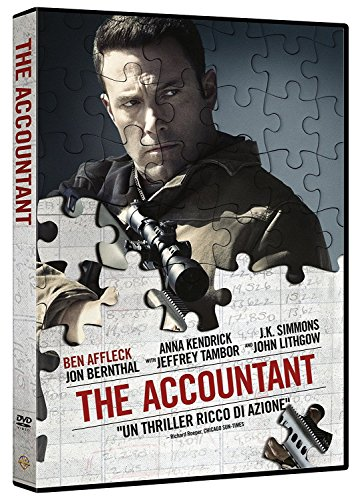 AFFLECK BEN - THE ACCOUNTANT (1 DVD)