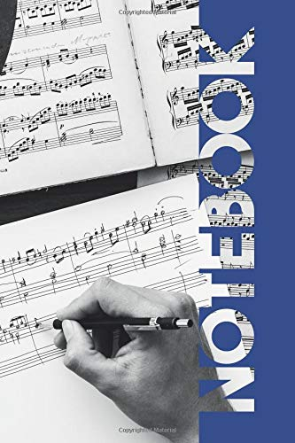 Notebook: Songwriting Charming Composition Book for Musical Theatre Auditions por Molly Elodie Rose