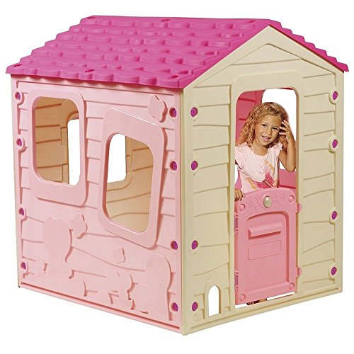 childrens-garden-playhouse-outdoor-indoor-kids-fun-play-house-toy-girl-plastic-pink
