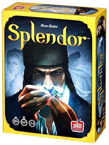 Asmodee Splendor - Juego de estrategia [Versión importada (inglés)]
