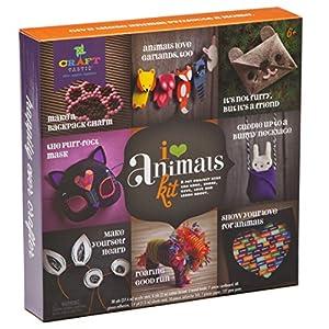 Anna Williams- Kit CREA y Decora con Animales, Multicolor (1)