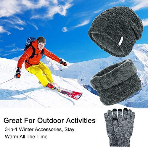 Zoom IMG-1 cappello uomo invernali in maglia