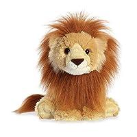 Aurora World 19267 Destination Nation Lion Plush Toy (Orange/Brown/White)