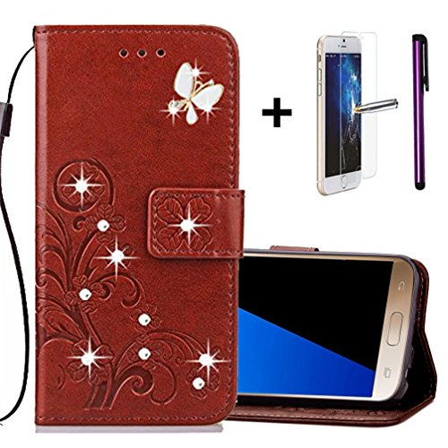 samsung-s7-wallet-flip-cover-with-free-screen-protector-1-stylus-pen-bling-sparkly-diamonds-pu-leath