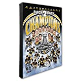 Foto Datei NHL Pittsburgh Penguins 2017 Stanley Cup Champions Composite Leinwand, multicolor, 40,6 x 50,8 cm