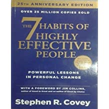 ‏‪The 7 Habits of Highly Effective People: Powerful Lessons in Personal Change 25nd Edition by Stephen R. Covey, Jim Collins - Paperback‬‏
