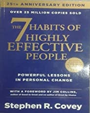 The 7 Habits of Highly Effective People: Powerful Lessons in Personal Change 25nd Edition by Stephen R. Covey, Jim Collins -