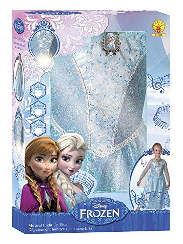 Imagen de frozen  disfraz elsa con luz y música, talla m rubie's spain 610362 m  alternativa