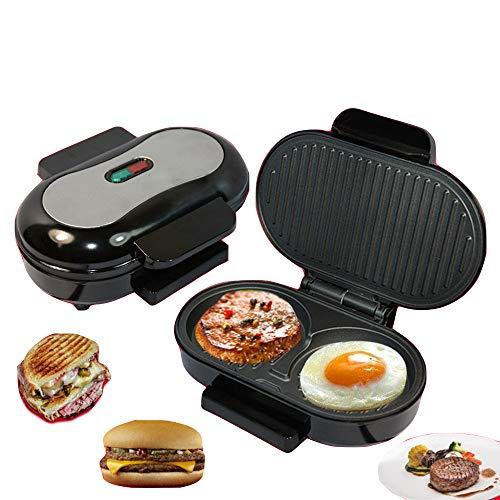 ZMDHL Küchenutensilien, kleine Steak Maschine kann Hamburger Omelett Panini Sandwich Maschine Brot Frühstück Grill Maschine Machen - Omelett-sandwich-maker