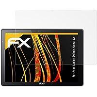 atFoliX Película Protectora para Acer Aspire Switch Alpha 12 Lámina Protectora de Pantalla - 2 x FX-Antireflex Anti-Reflectante Protector Película