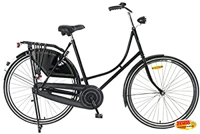 Damen Hollandrad 28 Zoll Plezier schwarz 57 cm