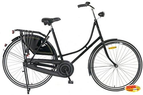 Plezier Damen Hollandrad 28 Zoll schwarz 57 cm