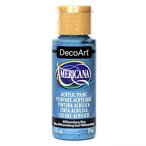 DecoArt Americana Mehrzweck-Acrylfarbe, 59 ml, Williamsburg Blau
