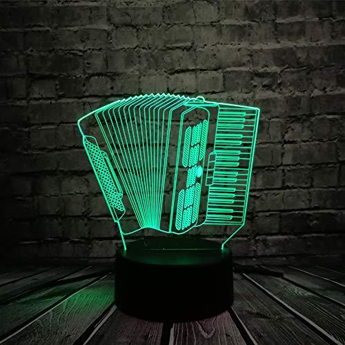 wangZJ 3d Dinosaurier Nachtlicht / 3d Lampe / 7 Farbkontrolle/Living Best Geschenk Spielzeug/Kinder / 3d Illusion Lampe/Akkordeon - Badewanne Bettwäsche-sets