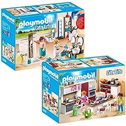 PLAYMOBIL 9268-9 Casa Moderna Set 4: 9268 + 9269