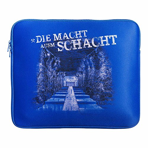 Laptop Tasche FC Schalke 04 + gratis Sticker Gelsenkirchen forever, S04, Tasche, Notebook Tasche, PC Tasche, Bag (Galaxy-fußball-hemd)