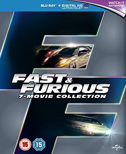 Fast & Furious-7 Movie Collection [Edizione: Regno Unito] [Blu-Ray] [Import]