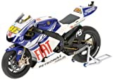 Minichamps 122103046 Yamaha - Moto en Miniatura Yamaha YZR-M1 de Fiat Yamaha Team Valentino Rossi (Escala 1:12)