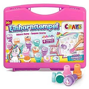 Craze - Sellos Infantiles Unicornios,