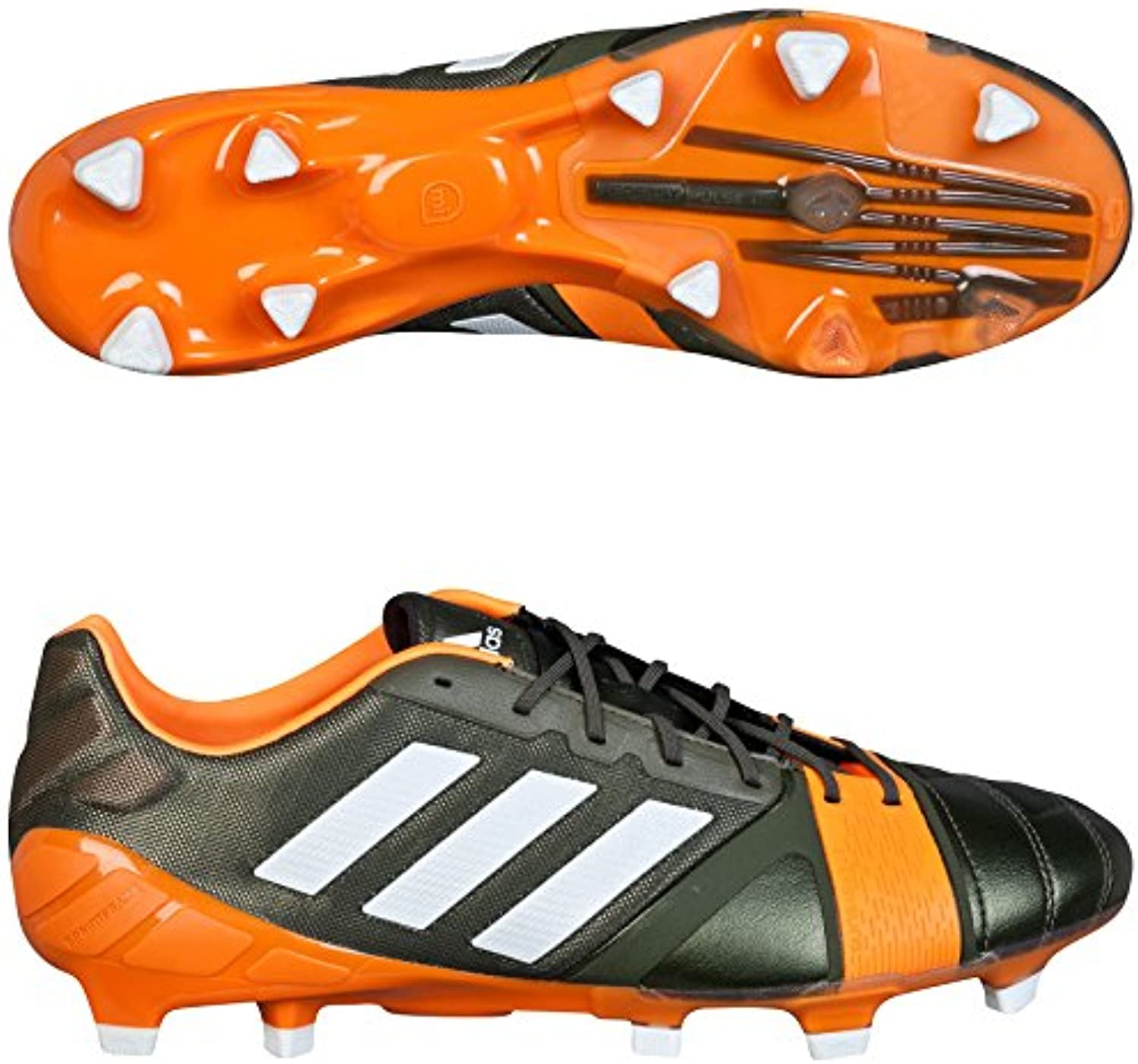 adidas Nitrocharge 1.0 TRX, color verde, talla UK-9.5