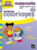 Coloriages pour apprendre les lettres et les nombres GS