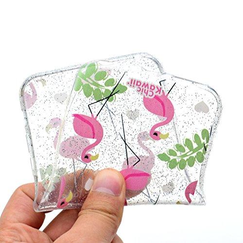 Custodia Cover Per Apple iPhone 7 plus / 8 plus , WenJie mango Trasparente Silicone Sottile Back Case Molle di TPU Trasparente per Apple iPhone 7 plus / 8 plus MM53