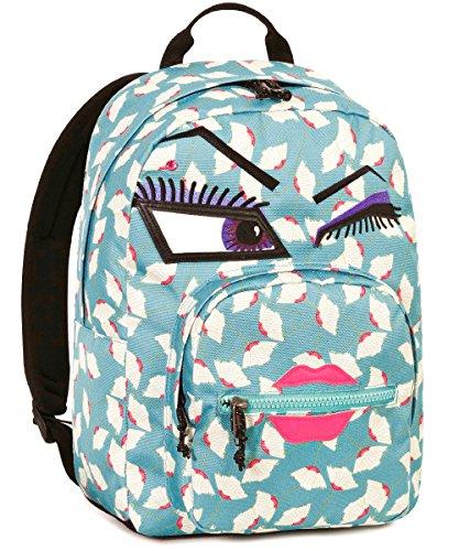Zaino invicta , ollie pack yap , azzurro , 25 lt , blu , tasca per portatile  e tablet