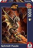 Schmidt Spiele Puzzle 58309 - Drache der Wüste,  1.000 Teile Puzzle