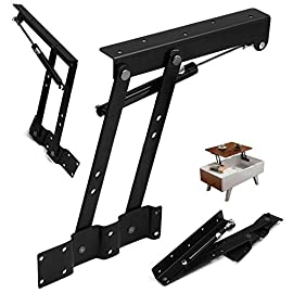 1 Pair Lift Up Top Coffee Table Mechanism Spring Hinge Hardware Fitting Table Hinge For Furniture Accessories, Multi-functional Pneumatic Gas Spring Lift Support for Coffee Table, by Lifestan