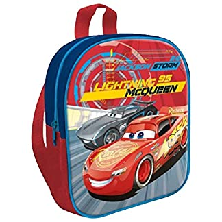 Kids Cars CR17443 Mochila Infantil, 31.5 x 42.5 cm, Multicolor