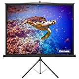 Best Portable Projection Screens - VonHaus 67-Inch Projector Screen with Tripod | Adjustable Review