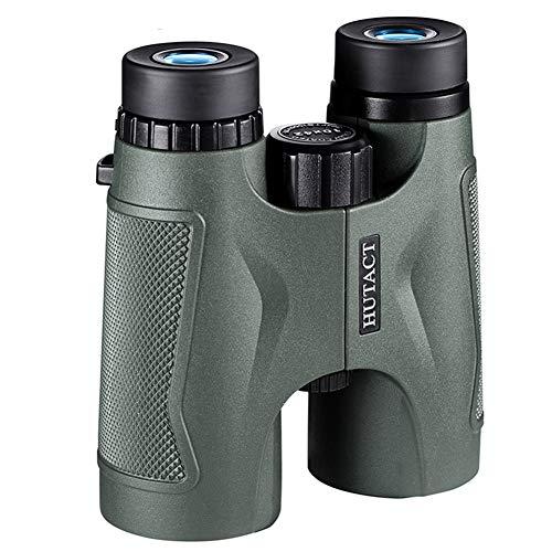 KIHXAZ Fernglas 10facher Zoom Professionelle optische Instrumente HD-Hochleistungsferngläser mit hoher Vergrößerung Vogelbeobachtung mit klarer Sicht Wasserdichtes Wandern im Freien-Binoculars