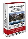 Münchner Hausberge Faltpanoramen: Sämtliche Aussichtsberge mit Bergbahnen