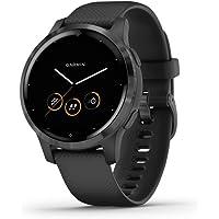Garmin Vívoactive 4S, Smaller-Sized GPS Smartwatch, Features Music, Body Energy…