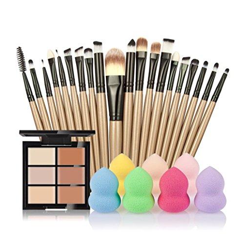 vovotrade-6-colores-ocultador-20pcs-cepillo-del-maquillaje-1pc-gotitas-de-agua-soplocolor-e