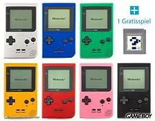 GameBoy Classic Pocket (Farbe nach Wahl) + GRATIS SPIEL