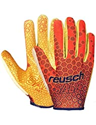 Reusch Futsal Pro 37 70 300 Gants de gardien de but Football Orange Homme