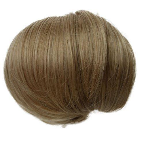 PRETTYSHOP Dutt Haarteil Zopf Haarknoten Hepburn-Dutt Haargummi Hochsteckfrisuren blond mix #22/613 HD9