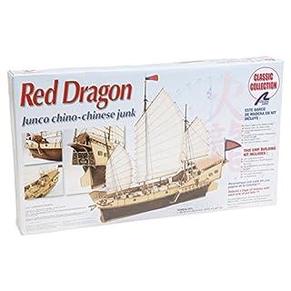 Artesanía Latina 18020 - Modell aus Holz: Chinesisches Schiff Red Dragon 1/60
