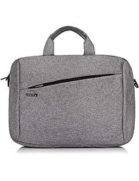 Wesley Office Laptop Bag Briefcase Notebook Professional Business 15.6 Inch Briefcase Messenger Sling College Bag Water Resistant Laptop Bag Tablet Business Carrying Handbag for Women and Men…