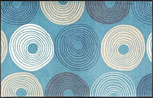wash+dry Cyclone Fußmatte, Acryl, bunt, 75x120x0.7 cm