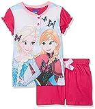 Disney Frozen, Pigiama Bambina, Rosa (Fushy), 110 (Taglia produttore:5 Anni)
