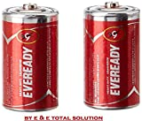 #3: D Size EVEREADY 1050 R20 [ A PACK OF 8 NO'S ] A 100% Genuine Online Selling Product