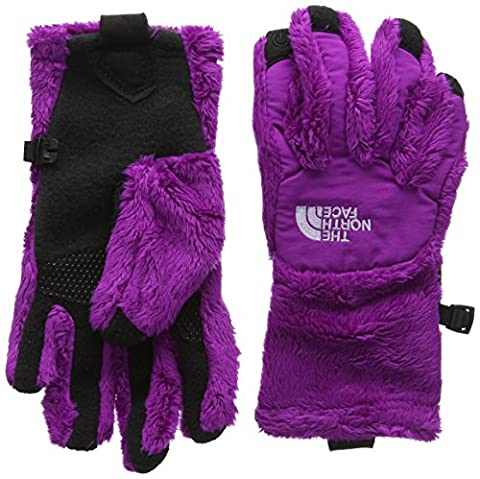 The North Face Girl's Denali Thermal Etip Gloves - Magic Magenta, Large