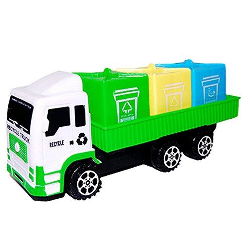 (Vovotrade Hygiene Auto Spielzeug LKW fantasiereiches Spiel Spielzeug für die Verbesserung der Feinen Spielwaren für Kinder 16cm*6cm*7cm (Grün))