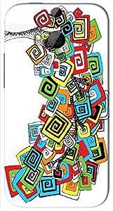 Noticeable 3D multicolor printed protective REBEL mobile back cover for HTC-M8 - D.No-DEZ-2306-m8